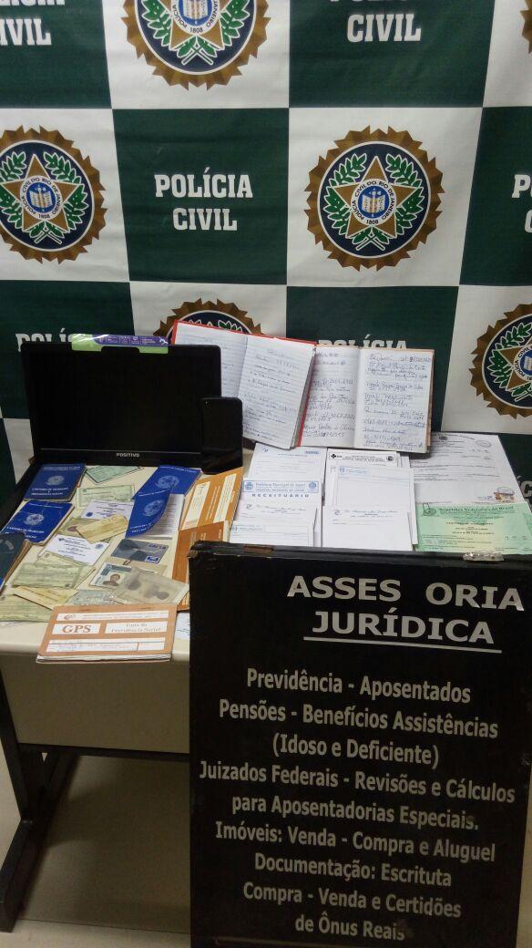 Falsos advogados são presos em flagrante em Queimados