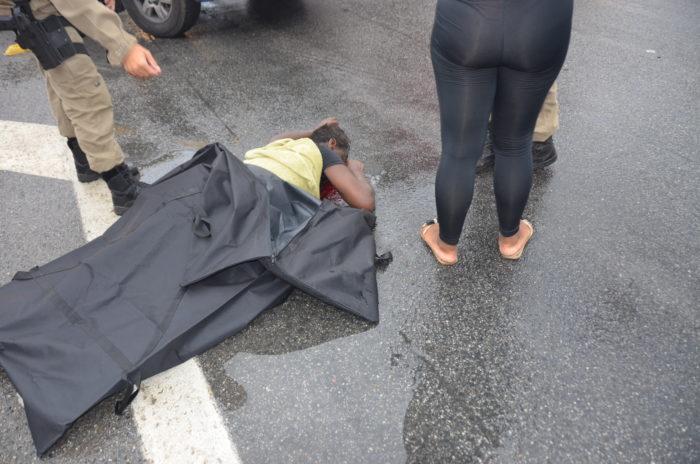 Mais uma morte na Dutra, na travessia em frente ao Marajoara