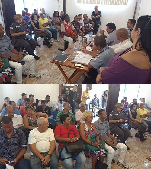 Desordem Pública no 'Baixo Queimados' foi o principal tema da primeira reunião do CCS em 2017