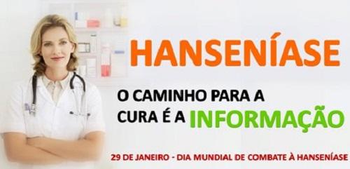 Secretaria de Saúde faz campanha contra a Hanseníase nesta segunda, 30/01