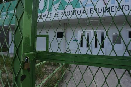 Upa de Morro Agudo e Posto Médico de Austin fechados