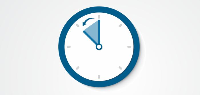 Atrase seu relógio em uma hora à meia-noite de sábado (18/02)
