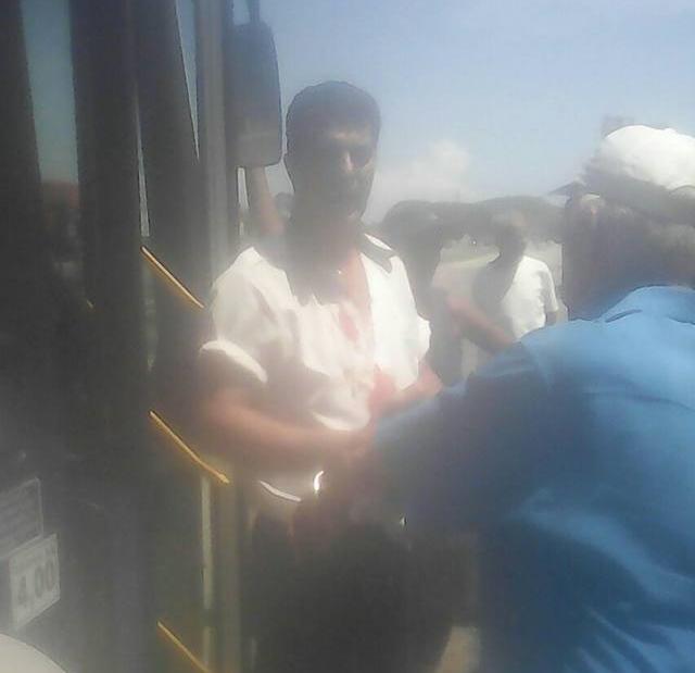 Tentativa de assalto ao ônibus Nova Iguaçu – Japeri via Engenheiro Pedreira, nesta sexta, 17/03