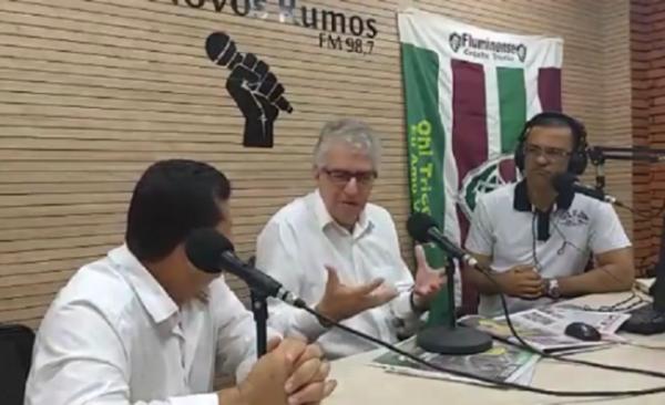 Vicente Loureiro fala do Plano de Mobilidade Urbana para Queimados