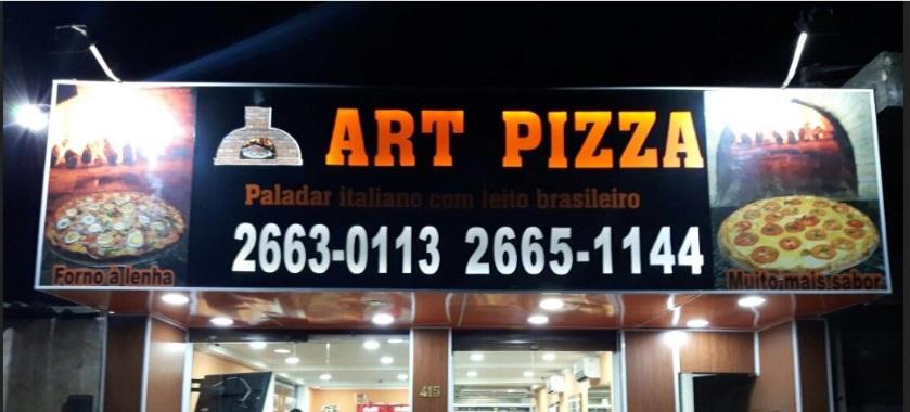 Art Pizza – 10% no dinheiro e 5% no cartão