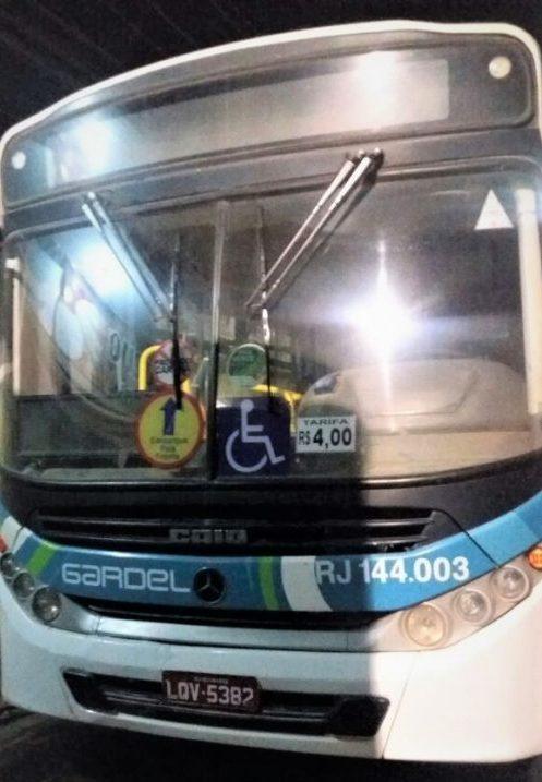 Mais dois ônibus da Gardel assaltados na noite desta quarta-feira, 05/04
