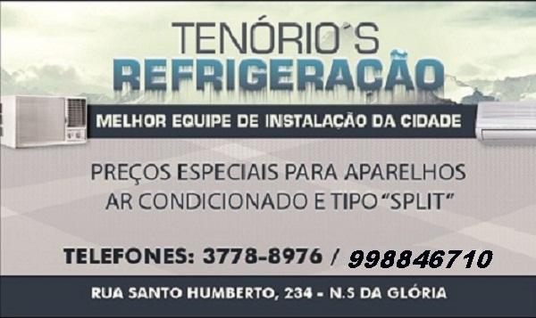 Tenório's Refrigeração – 20% na mão de obra