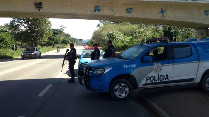 """PMs começaram hoje a """"Tiradentes"""", primeira operação nacional conjunta com todos os batalhões do Brasil – Veja as ações em Queimados"""