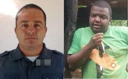 PM prende PM em flagrante furtando combustível de duto da Petrobras junto com outro suspeito, em Japeri