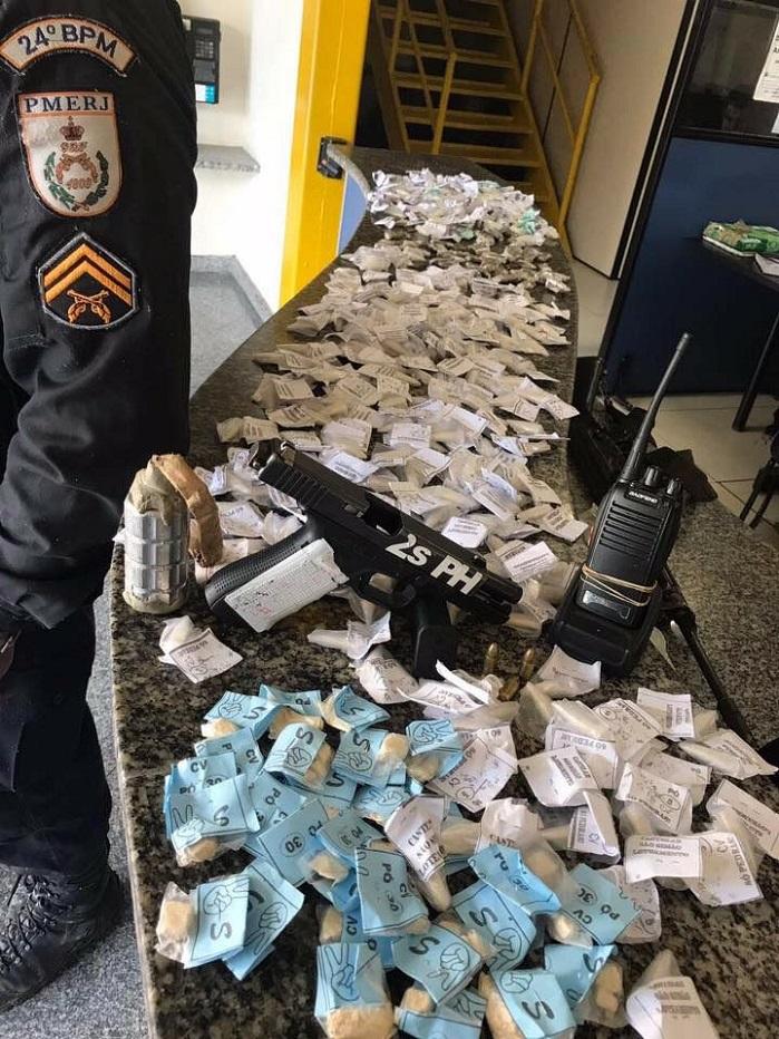 Homem preso no São Simão portava arma e até granada