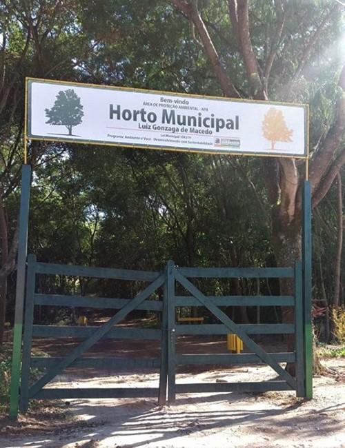 Horto Municipal aberto ao público no Dia Mundial do Meio Ambiente