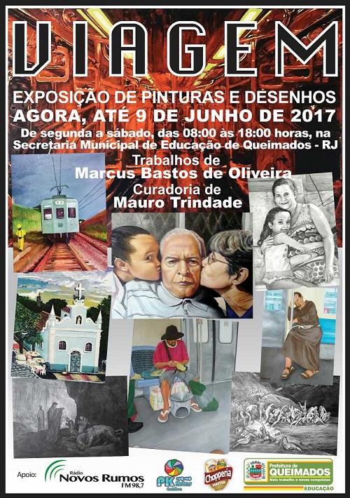 Exposição 'Viagem', de Marcus Bastos, fica só até hoje às 18 horas.