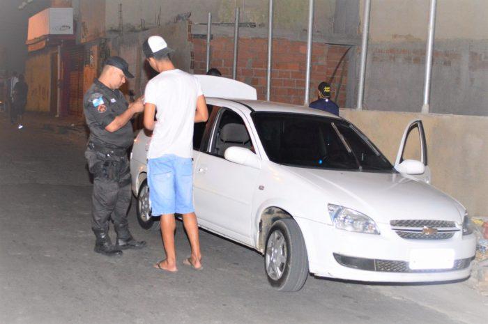 Praça das Palmeiras em Queimados tem operação ostensiva da Secretaria Municipal de Segurança
