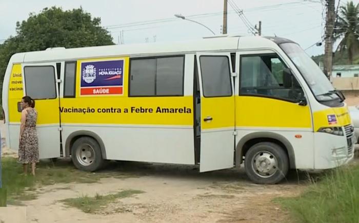 Nova Iguaçu intensifica vacinação contra febre amarela com posto volante