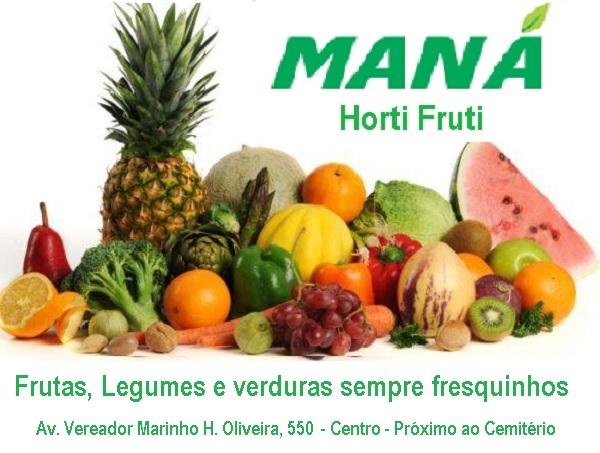 Maná Horti-Fruti – 10% de desconto