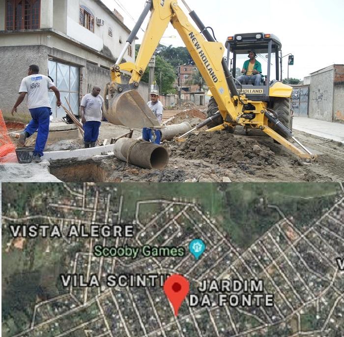 Homologada a licitação para elaboração do projeto executivo de saneamento e urbanização dos bairros Vila Scintilla, Vista Alegre e Granja Rosalina (Jardim da Fonte)