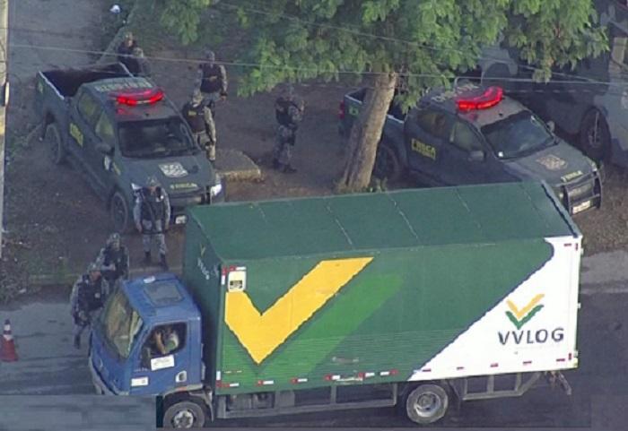 Rio de Janeiro registrou 1700 roubos de cargas só nos dois primeiros meses de 2018