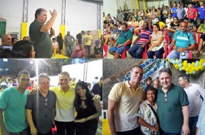 Garotinho, pré-candidato ao governo do Estado, visitou Mesquita e Queimados, no sábado, 28/04