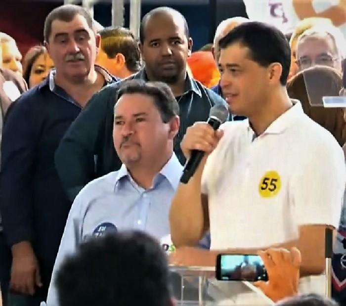 Zaqueu Teixeira é candidato a vice-governador na chapa de Índio da Costa, pelo PSD