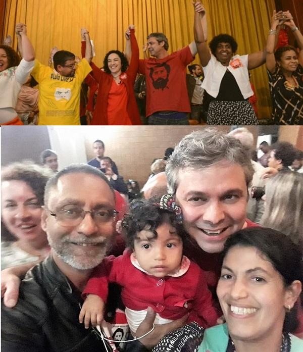 PT oficializa Márcia Tiburi como candidata ao governo do estado e lança o queimadense Ribamar Dadinho candidato a Deputado Estadual