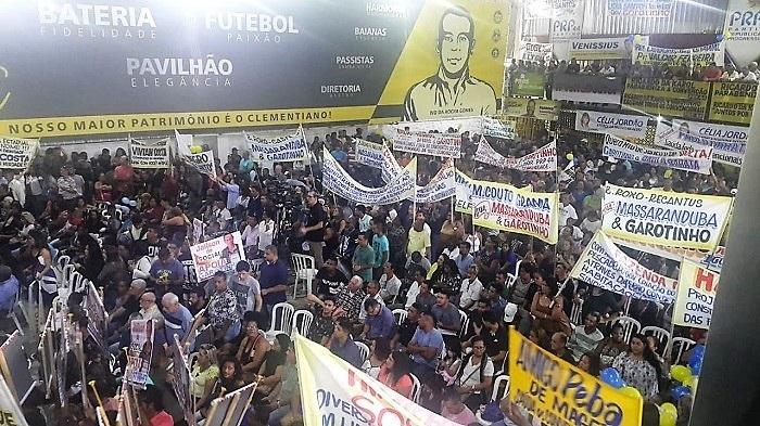Convenção do PRP oficializa Garotinho como candidato ao governo do estado