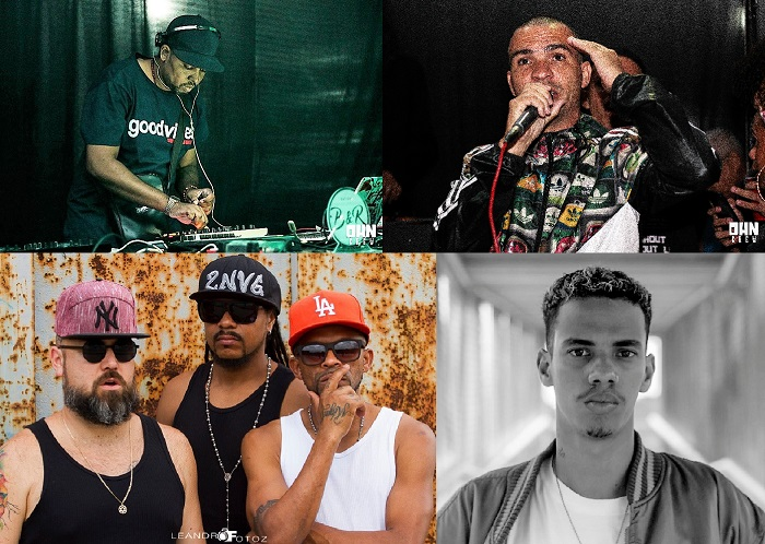 Rap , HipHop , Soul , Reggae e Ragga com Batidas & Rimas no Palco Aberto da próxima sexta-feira,10/08, no Premier Gourmet