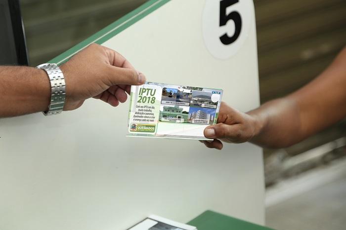Desconto de 10% no pagamento do IPTU 2018 em Queimados vai até 20/08