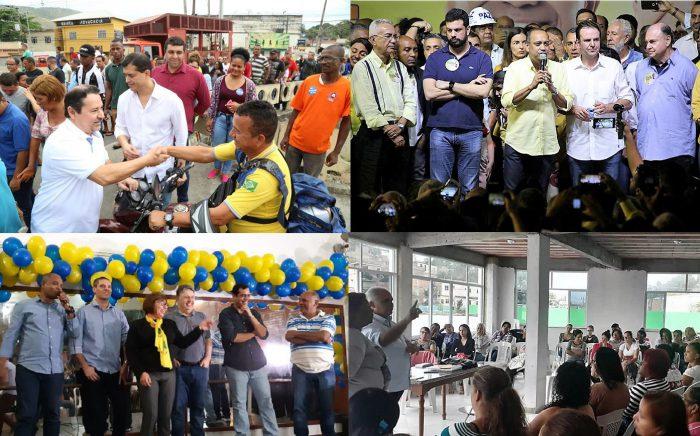 Campanha Eleitoral em Queimados começou a todo vapor