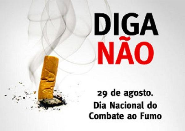 Dia Nacional do Combate ao fumo será celebrado em Queimados nesta quarta, 29/08.