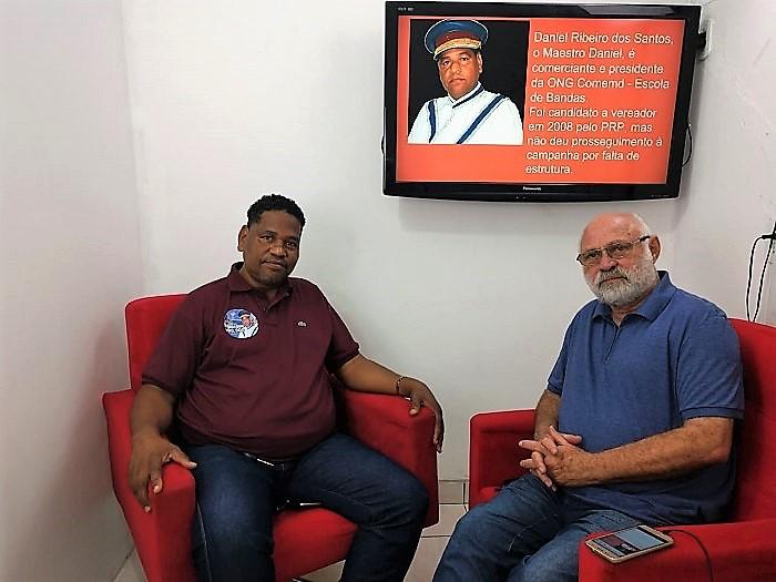 Entrevista com Maestro Daniel prejudicada por instabilidade na Internet foi transferida para sábado, 22/09. Hoje às 18:00 tem Glauco Kaizer.