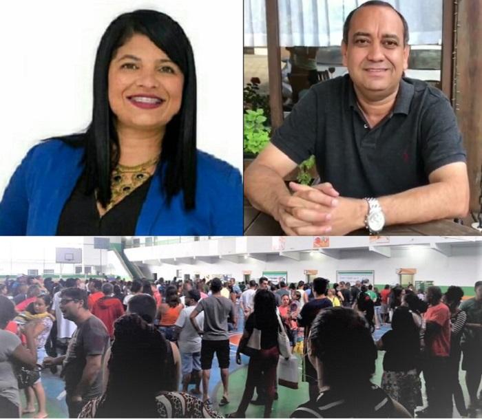 Eleições 2018 em Queimados: filas quilométricas, longa espera e dois representantes na Alerj: Alana Passos e Max Lemos