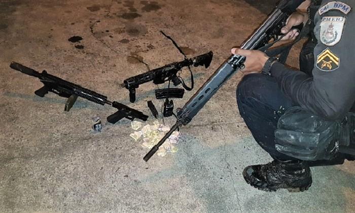 Mais dois traficantes mortos em confronto com a polícia no Delamare, Engenheiro Pedreira