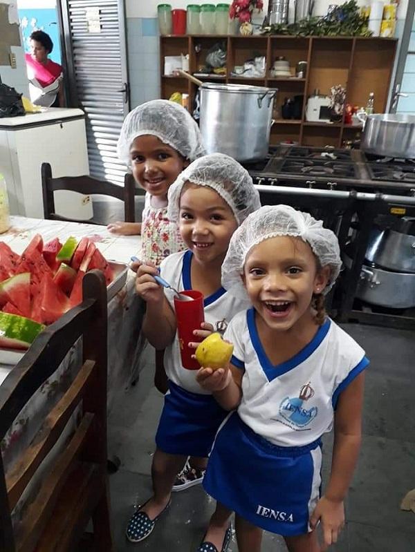 Almoço beneficente em prol da Creche Iensa neste domingo, 04/11, na Igreja de São Francisco