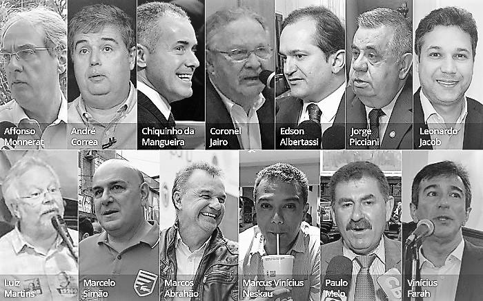 Lava Jato prende deputados estaduais que recebiam 'mensalinho'. Dentre eles está André Corrêa pré-candidato à presidência da Alerj