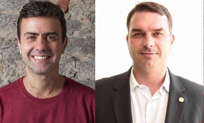 Marcelo Freixo e Flavio Bolsonaro batem boca no Twitter em decorrência da prisão do pré-candidato a presidência da Alerj André Corrêa