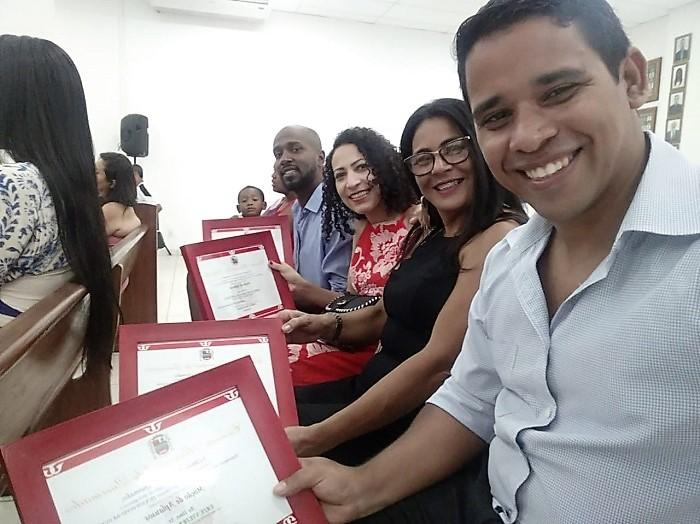 Câmara Municipal presta homenagem a Conselheiros Tutelares de Queimados