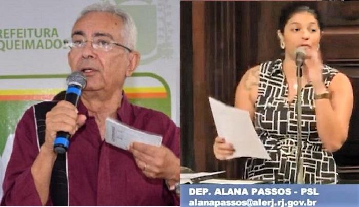 Depois de bate-boca nas redes sociais, Deputada Alana Passos 'solta os bichos' em cima do Prefeito Carlos Vilela, que a acusa de postar 'fake news'