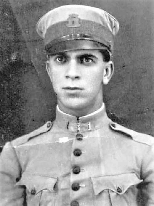 Onil de Carvalho Gitahy, o Pau Puro, quando jovem.