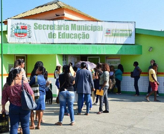 Começam hoje as inscrições do Concurso Público para profissionais da educação no município de Queimados
