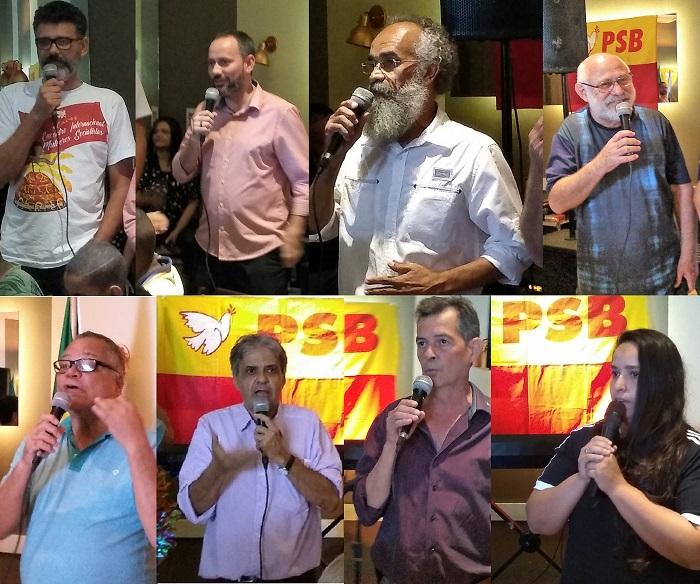 Depois do 'Solidariedade' e do 'Podemos', o 'PSB' mostra a cara e anuncia suas pretensões para a disputa eleitoral de 2020 em Queimados