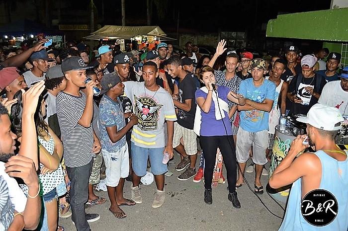 Batidas & Rimas na Praça N. S. da Conceição, em Queimados, neste sábado 25/01