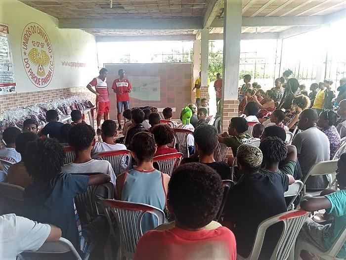 Paulo José, o Dedé, fala do trabalho com os jovens no vitorioso Projeto do Parque Ipanema F. C.