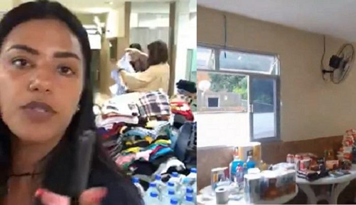 Grupo de amigos faz coleta de donativos para as vítimas das enchentes em Queimados. Faça sua doação.