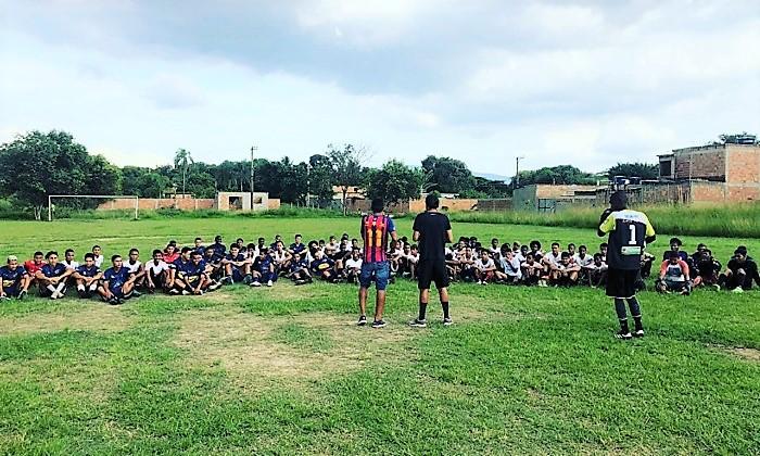 Neste sábado, 14/03, tem 'peneira' no Parque Ipanema Futebol Clube para a Taça das Favelas 2020