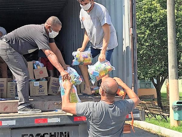 Começa em Queimados a distribuição de 17.000 cestas básicas do 'Mutirão Humanitário', com local, dia e hora marcados