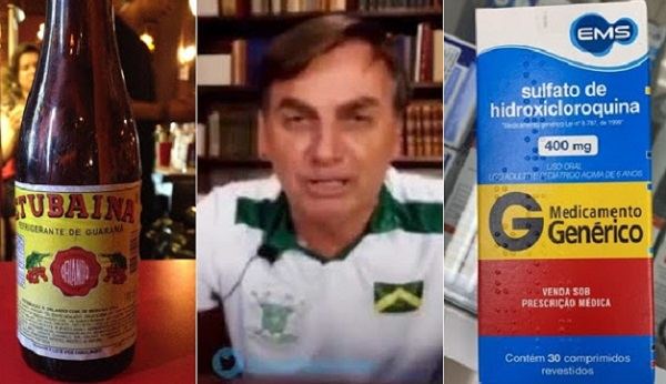 'Presidente desce na boquinha da tubaína', por Claudio Costa Rosa
