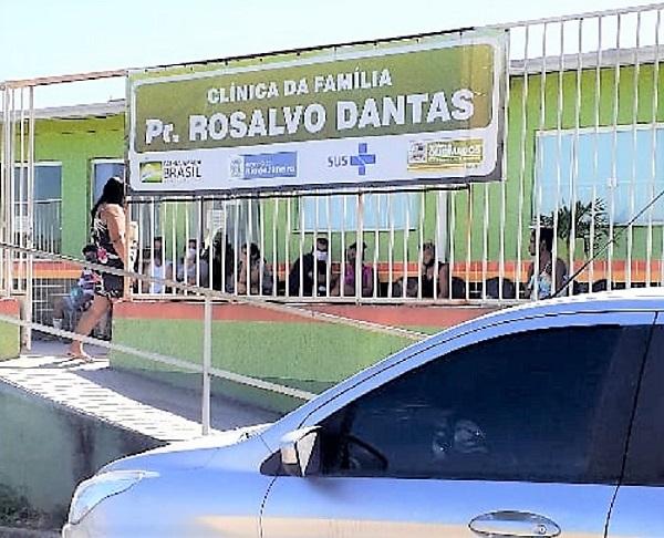 Líder Comunitária do Parque Olimpo quer saber porque Clínica da Família Pr. Rosalvo Dantas não atende moradores do bairro onde está localizada