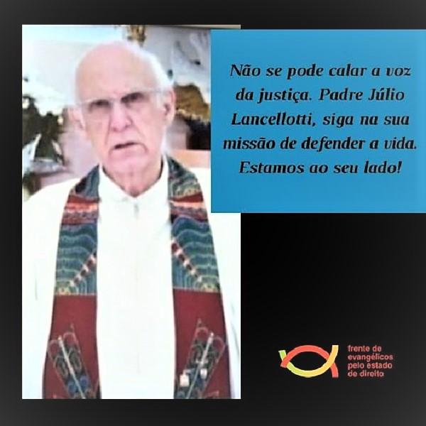 Solidariedade ao Padre Julio Lancelotti