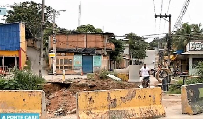 Alana sai na frente e pede a governador construção de nova ponte para o Eldorado, sub-bairro da Ponte Preta