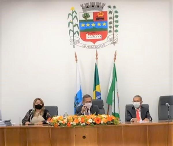 Glauco sofre sua primeira derrota política: Nilton Moreira Cavalcante é de novo Presidente da Câmara Municipal de Queimados
